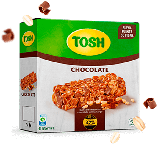Barras cacao Tosh