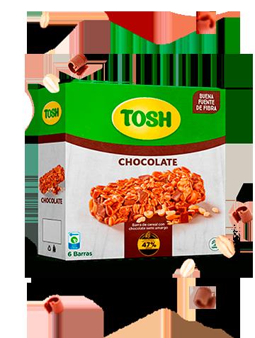 Barra de granola chocolate Tosh