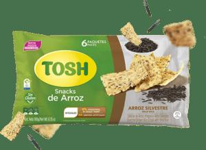 Snack Arroz Silvestre Tosh