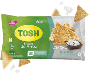 Snacks de Arroz Tosh