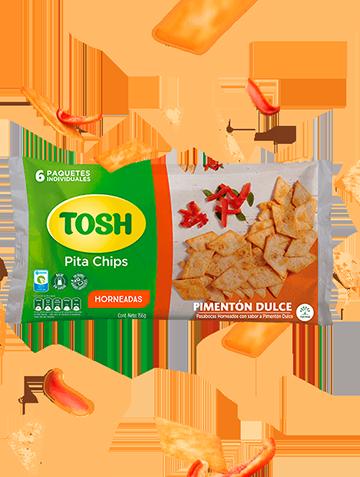 Pita chips Pimenton Dulce Tosh