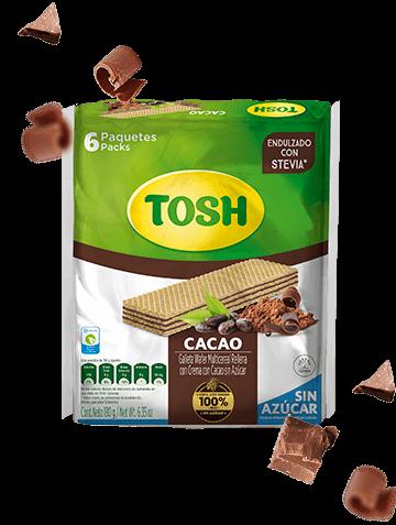 Galletas Wafer Cacao Tosh